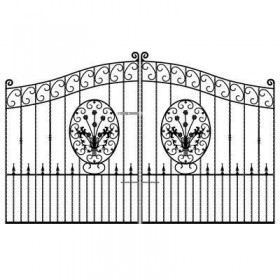Blenheim 6' (1.83m) Wrought Iron Estate Gates