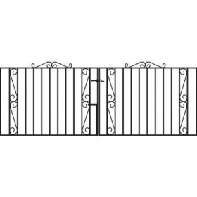 Clifton 3' (92cm) Wrought Iron Drive Gates