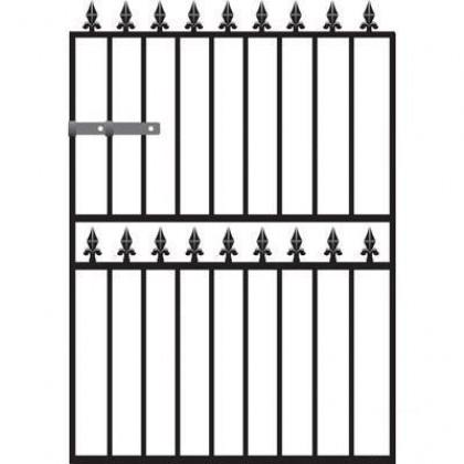 Warwick 4' (1.22m) Wrought Iron Garden Gate