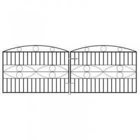"Monaco 3' 6"" (1.07m) Wrought Iron Driveway Gates"