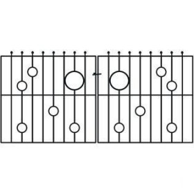 Rembrandt 3' (92cm) Wrought Iron Drive Gate