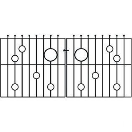 Rembrandt 4' (122m) Wrought Iron Drive Gate