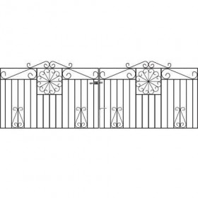 Regent 3' (92cm) Wrought Iron Drive Gates