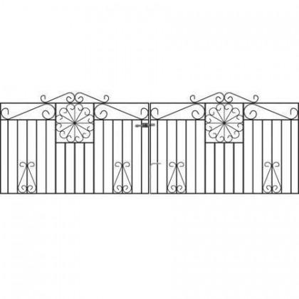 Regent 3' (92cm) Wrought Iron Drive Gates