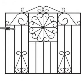 Regent 3' (92cm) Wrought Iron Garden Gate