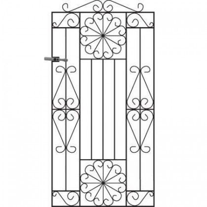 Regent 6' (1.83m) Wrought Iron Side Gate