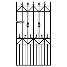 Royal Ascot 6' (1.83m) Wrought Iron Side Gate