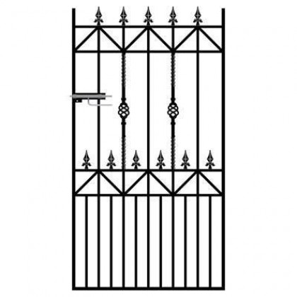 Royal Ascot 6' (1.83m) Wrought Iron Side Gate