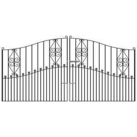 Royal Clifton 7' (2.13m) Wrought Iron Estate Gates
