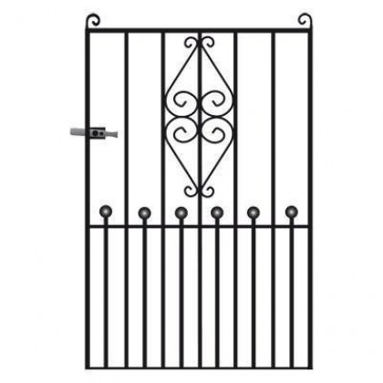 Royal Marquis 6' (1.83m) Wrought Iron Side Gate