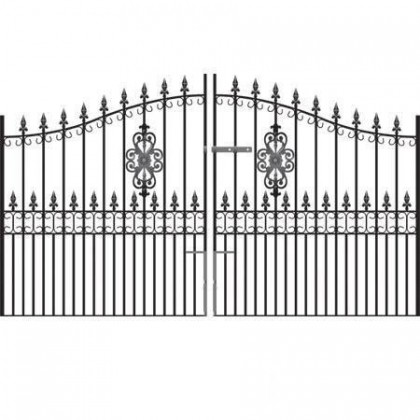 Royal Premier 6' (1.83m) Wrought Iron Estate Gates