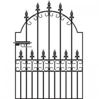 Royal Premier 4' (1.22m) Wrought Iron Garden Gate
