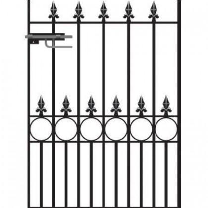 Royal Victoria 4' (1.22m) Wrought Iron Garden Gate