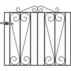 Melrose3' (92cm) Wrought Iron Garden Gate