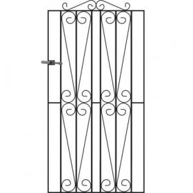 Westminster 6' (1.83m) Wrought Iron Side Gate