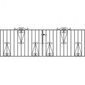 Winchester 3' (92cm) Wrought Iron Driveway Gates