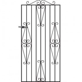 Winchester 6' (1.83m) Wrought Iron Side Gate