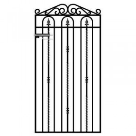 Windsor 6' (1.83m) Wrought Iron Side Gate